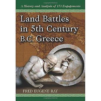 Maa taisteluissa eaa Kreikassa: historia ja analyysi 173 sitoumusten