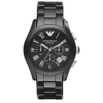 Emporio Armani mænds keramiske Chronograph Watch AR1400