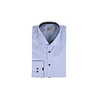 Stenstroms Fitted Long Sleeved Shirt Light Blue
