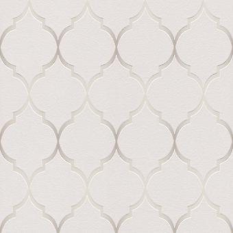 Fretwork geometriska tapeter