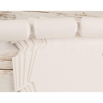 12 Small Smooth White Make & Fill Your Own DIY Recyclable Cracker Boards