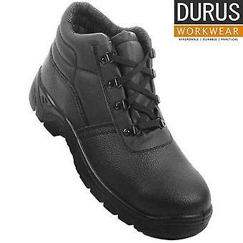 Durus arbejdstøj stål tå Cap mellemsål Chukka støvler SBU02