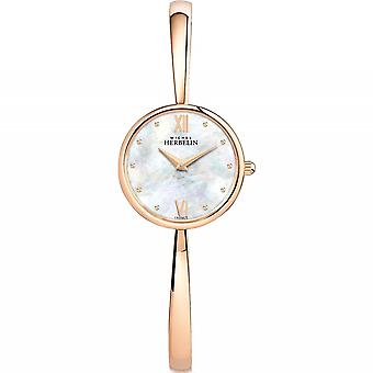 Michel Herbelin 17408-BPR19 Women's Scandinave Bangle Wristwatch