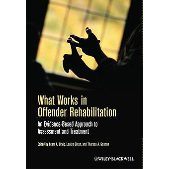 What Works in Offender Rehabil by Craig