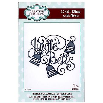 Creative Expressions Festive Collection - Dove Of Peace Die Set by Sue Wilson CED3035