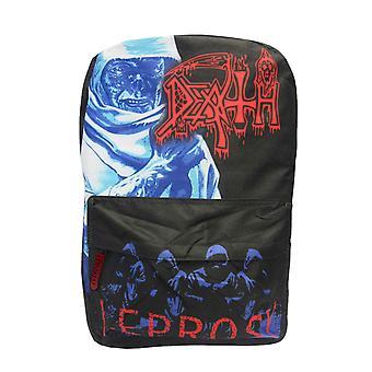 Death Backpack Bag Leprosy Band Logo new Official Black