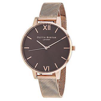 Olivia Burton Women's Classic Brown Dial Watch - OB16BD86