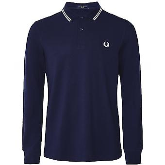 Fred Perry langærmet Twin tippet Polo skjorte M3636 I86