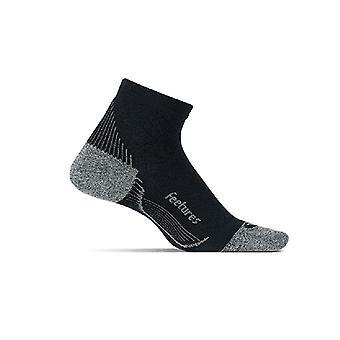 Feetures Unisex Plantar Fasciitis helpotusta neljänneksellä Juoksusukat
