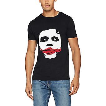 Batman Unisex Adults Joker Big Face Design T-Shirt
