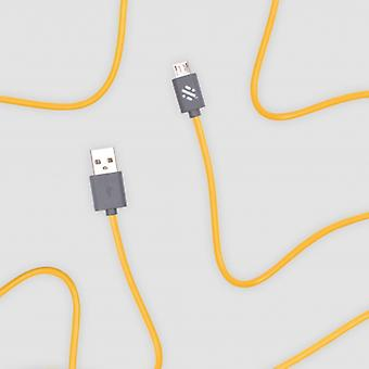 Link - Micro Charge & Sync Cable 1m - Giallo