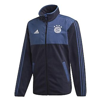 2019-2020 Bayern Munich Adidas Seasonal Special Fleece Jacket (Navy)