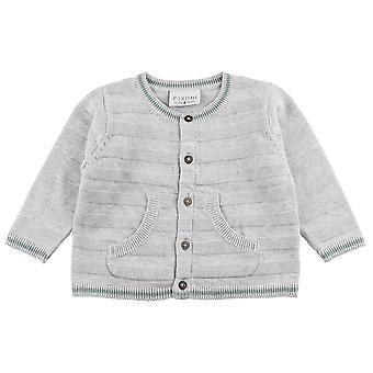 Small Rags Fixoni Grey Boys Cardigan