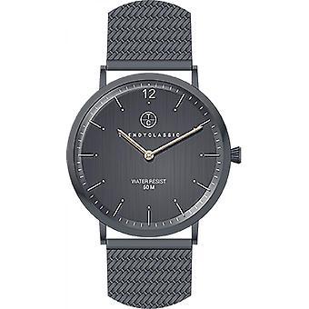 Trendy Classic Lansen CMB1037-20 - ronde van de moderne mens Watch