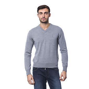 Grey Pullover Billionaire Man