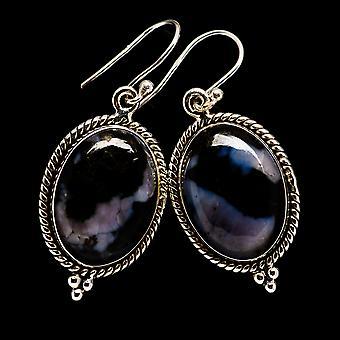 """Gabbro oorbellen 1 1/2 """"(925 sterling zilver)-handgemaakte Boho vintage sieraden EARR395151"""