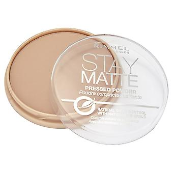 Rimmel Stay Matte Pressed Powder 005 Sedoso Beige 14g