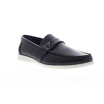 Unlisted By Kenneth Cole Emersin Slip On Mens Black Casual Loafers Shoes