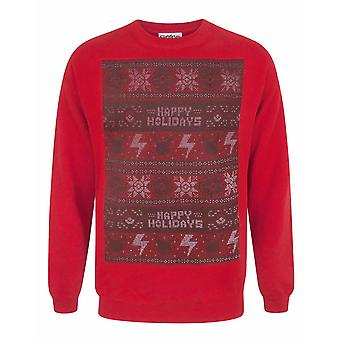 Pokemon Happy Holidays Men-apos;s Christmas Sweater