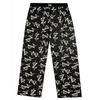 A Legend of Zelda All Over Print Men's Lounge Pants / Sleepwear fekete