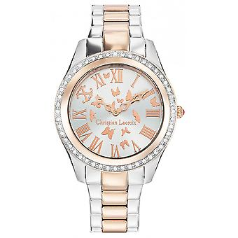 Christian lacroix Quartz Analog Women's Watch with CLWE33 Stainless Steel Bracelet