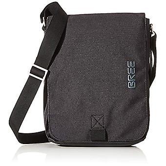 BREE CollectionPunch نمط 52 الكتف الأسود BagUnisex - أكياس الكتف AdultBlack (أسود)6.5x26x21 سنتيمتر (B x H x T)