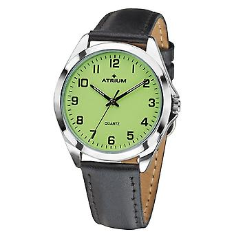 ATRIUM Men's Watch Wristwatch Analog Quartz A10-12 Leather