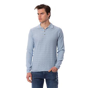 Trussardi Men's Light Blue Polo