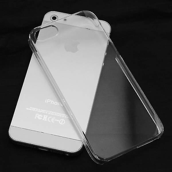 Stuff Certified® 2-Pack Transparent Clear Silicone Case Cover TPU Case iPhone 5