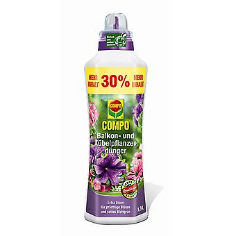 COMPO balcony and potted plant fertilizer, 1.3 litres