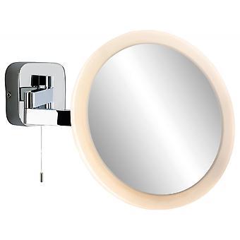Firstlight Couturier Modern Chrome Adjustable Neck Mirror Wall Light
