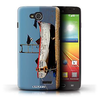 STUFF4 Case/Cover for LG L90 Dual/D410/Rusty Boat/British Coast