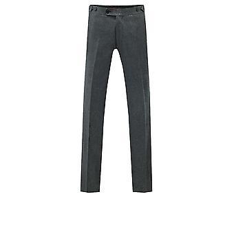 Dobell Mens Silver Shimmer Tuxedo Trousers Slim Fit