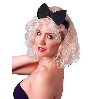 Bristol Neuheit Frauen/Damen 80er Jahre Stil Perücke mit Schleife Stirnband