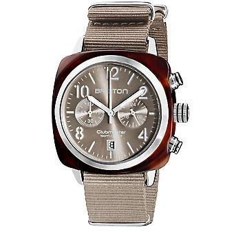 Briston 19140.SA.T.30.NT Clubmaster Classic Taupe Wristwatch
