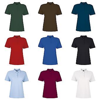 Sonar Womens/Ladies Marcy 100% Cotton Short Sleeve Polo Shirt