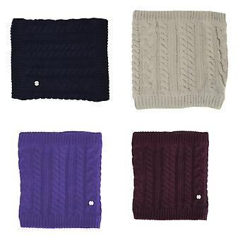 HyFASHION Adults Meribel Cable Knit Snood