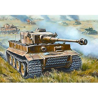 Zvezda World War II Char de bataille allemand, Échelle 1:72