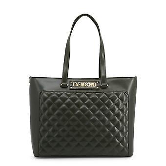 الحب موسكينو الأصلي المرأة الخريف / الشتاء حقيبة التسوق - اللون الأخضر 37081