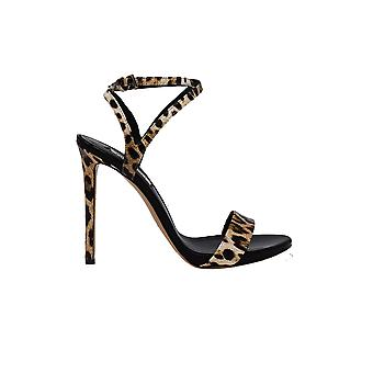 Ninalilou 301004mcleo Women's Leopard Leather Sandals