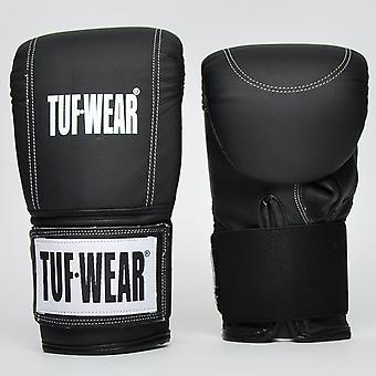 Tuf Wear Bag Mitts Thumbless and Wrap Around Strap Black