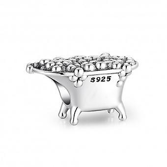 Sterling Silver Charm Badkar - 6472