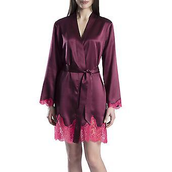 Aubade MS65 Women's Soie d'Amour Dantel İpek Kimono