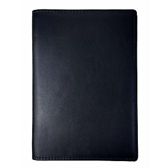 Passport case /card holder with RFID protection - leather