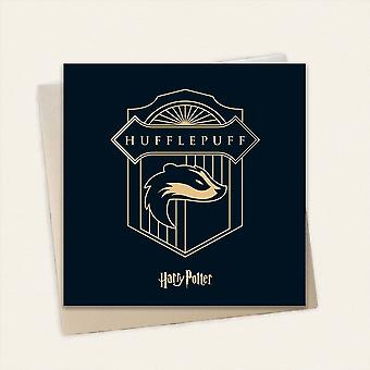 Cardology Harry Potter House Hufflepuff Greeting Card