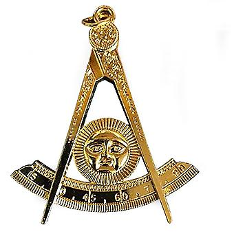 Masonic gold collar jewel - past master-nanba