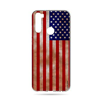 Hull For Xiaomi Redmi Note 8t Soft American Flag