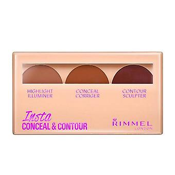 Rimmel Insta Conceal and Contour - 030 Dark