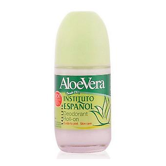 Roll-On Deodorant Aloe Vera Instituto Español (75 ml)
