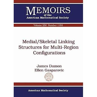 Medial/Skeletal Linking Structures for Multi-Region Configurations by